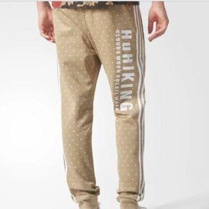 Pharrell Williams Adidas track pants SZ large NWT